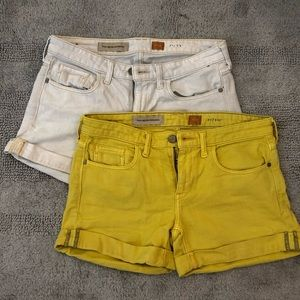 2 pairs of Pilcro from Anthropologie Size 27